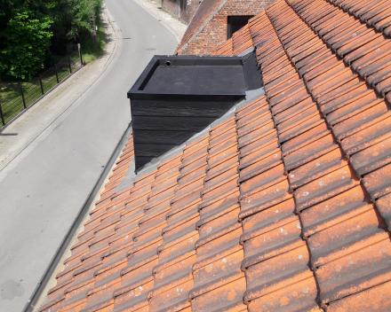 Retridex epdm op dakkapel