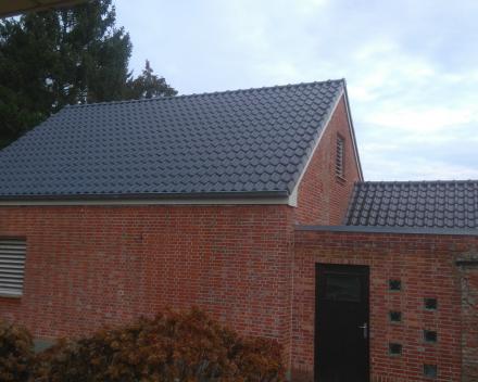 Vlaamse pan 401 leikleur mat geglazuurd