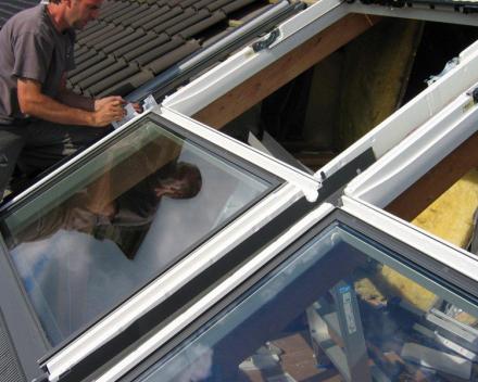 Plaatsen Velux Integra elektrisch dakvenster